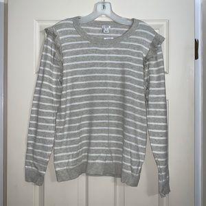 J. Crew strip sweater